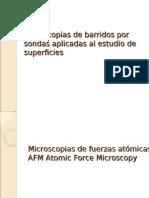 Microscopias de Barridos Por Sondas Aplicadas Al Estudio