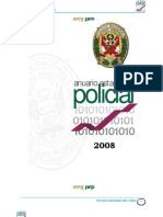 ANUARIO ESTAD. PNP 2008
