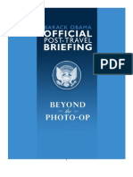 00067-7.25.08 Beyond The Photo-Op Memo