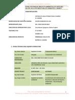 Resumen Ejecutivo del Proyecto 'SISTEMA DE AGUA POTABLE PARA EL BARRIO EL CARMEN DE LA PARROQUIA MALACATOS'