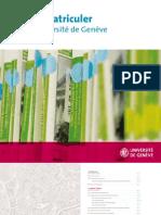 Universite de Geneve - Immatriculer112