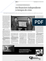 20111202 - Diario de Navarra - Entrevista C2 Asesores