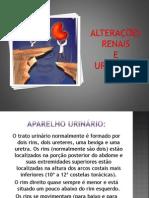 ALTERAÇÕES RENAIS E URINARIAS