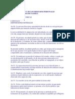 Código Civil. Personas físicas y jurídicas