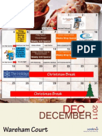 Dec Retail Calendar 2011