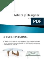 Artista y Designer Resumen 2