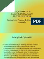 Seminario Procesos Manufactura Avanzada Electroerosion