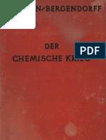 Der Chemische Krieg - Hanslian Bergendorff , 1925