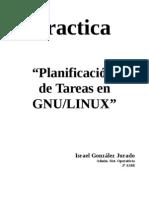 Planificación de tareas GNU-LINUX (Israel .G.J.)