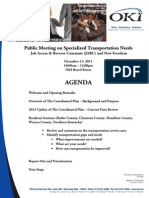Agenda Specialized Transportation Public Meeting 12-13-11