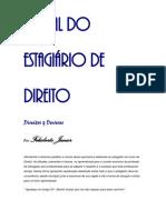 MANUAL DO ESTAGIÁRIO DE DIREITO