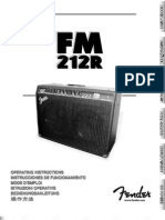 FM 212R Manual