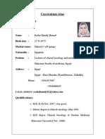 RASHA HAMDY CV