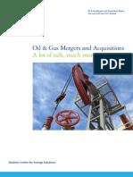 Deloitte 2011 Oil & Gas M&a Outlook