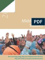 Stanford Middle East Studies Catalog 2012