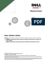 Manual do Usuário dell mini 3ix