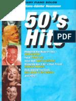 50's Hits for Piano - Arrangements by Hans-Gunter Heumann