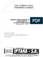 P 19-2003 Adaptarea La Teren a Proiectelor Tip de Podete Pt Drumuri