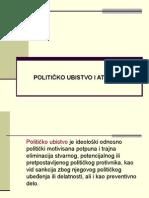 Politicko ubistvo