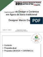 Aplicação do Design e Cerâmica em figura de barro tradicional CONTAF2011