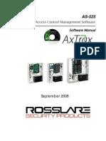 As-525 Axtrax Software Manual 140908