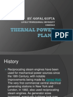 My Presentation on Thermal Power Plant