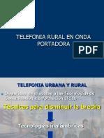 Telefonia Rural en Onda Portadora de Lineas De