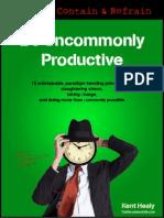 Be Uncommonly Productive - Chrometa