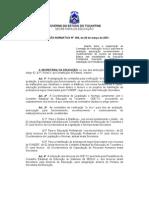 Instrução Normativa nº 004-2001