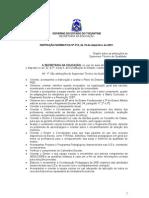 Instrução Normativa nº 013-2001
