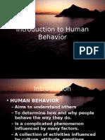 Introduction to Human Behavior