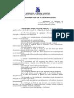 Instrução Normativa nº 029-2002