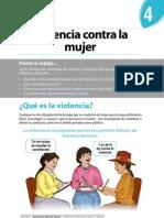 Boletín Nº 4 - Violencia contra la Mujer