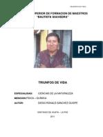 TRIUNFOS DE VIDA