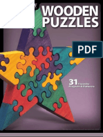 Wooden Puzzles - 31 Favorite Projects Patterns (Gnv64)