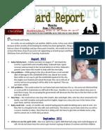 Newsletter Aug - Nov 2011