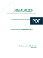 Alcohol and Crime in Europe