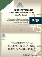 Educación de Calidad y Calidez  Derecho Fundamental de los Estudiantes