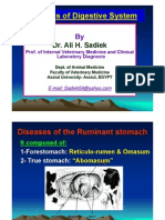Ruminal  Acidosis/Rumen overload for Vet. Students /Ali sadiek