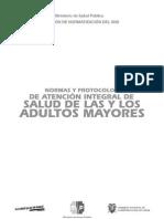Normas y Protocolos ADULTO MAYOR