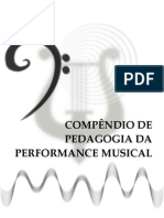 Compêndio da Pedagogia da Performance Musical