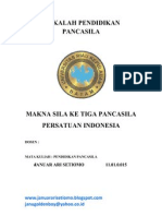 Makna Sila Persatuan Indonesia