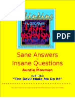 Auntie Mauman Comments on an Anti-Mormon's Outrageous  Claims About Mormon Children and Mormon Church Dress Habits