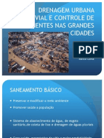 Drenagem Pluvial Urbana