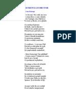 SECRETUL LUI  HECTOR  poezie de Ion Pribeagu