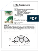 27-175C Turtle Amigurumi