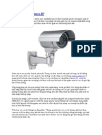 Ứng dụng của camera IP