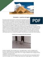 Pirâmides- o mistério do Egipto