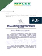 Curso on Line - Simples Nacional - Parceiros