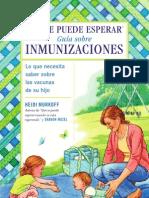 What to Expect Guideto Immunizations Spanish